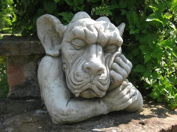 Кумедні фігурки для саду