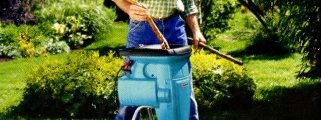 Навіщо потрібен шреддер в саду?