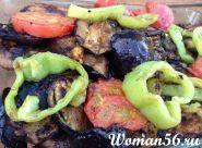 Запечені овочі на мангалі