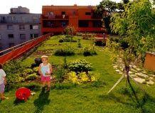 Зелена дах: полив і водостік