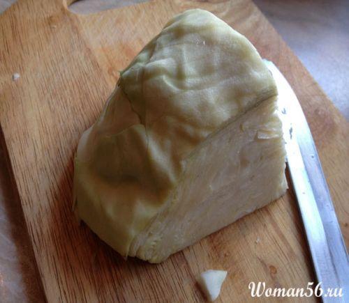 Смажена капуста рецепт